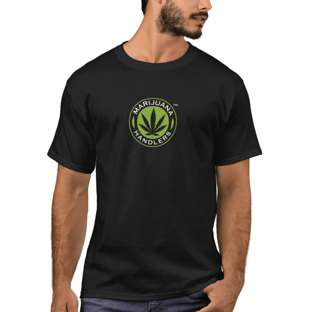 Men's – Marijuana Handlers T-Shirts (Black)