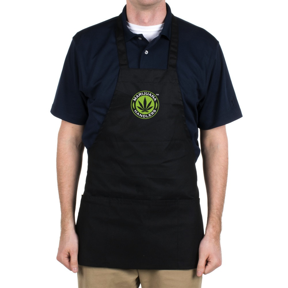 Official Marijuana Handlers™ Work Apron (Short)