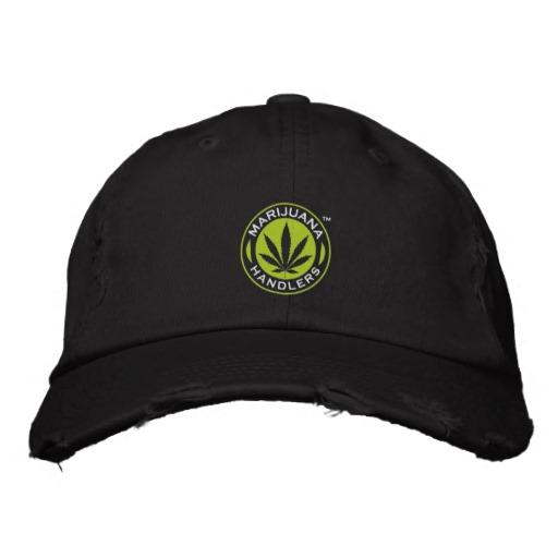 Marijuana Handlers™ Baseball Cap (Black)