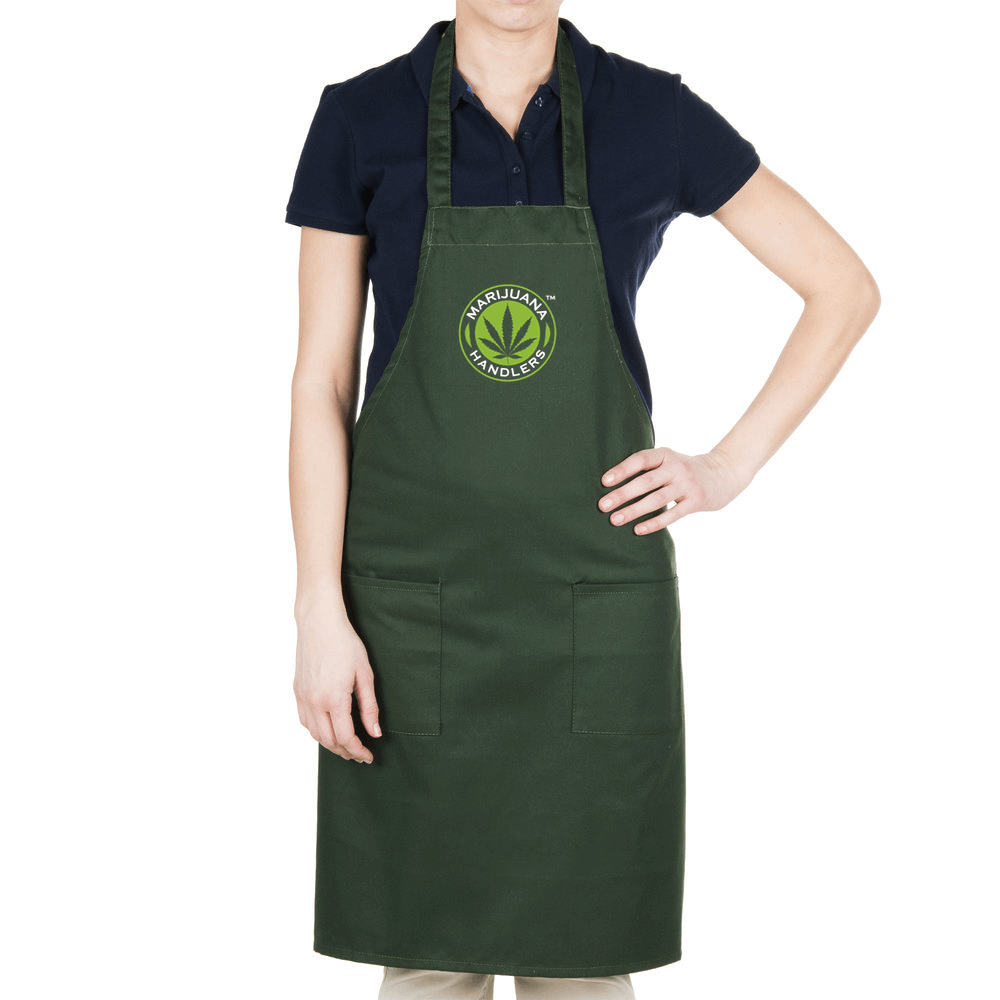 Official Marijuana Handlers™ Work Apron (Long)