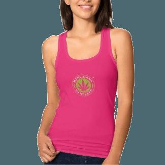 Women's – Marijuana Handlers Tank Top (Pink)