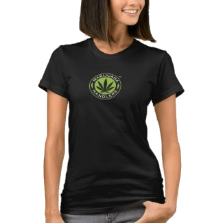 Women's – Marijuana Handlers™ T-Shirts (Black)