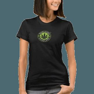 Women's – Marijuana Handlers™ T-Shirts (Black)