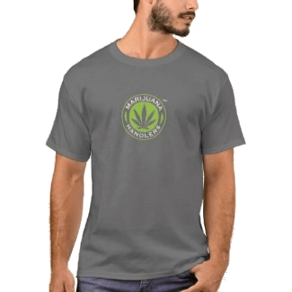 Men's – Marijuana Handlers T-Shirts (Grey)