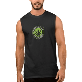 Men's – Marijuana Handlers Tank Top (Black)