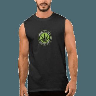 Men's – Marijuana Handlers Tank Top (Black)