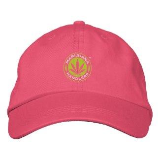 Marijuana Handlers™ Baseball Cap (Pink)